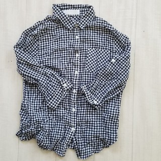 9a6ee92d6b9f1 ハニーズ ギンガムチェックシャツ シャツ ブラウス(レディース 長袖)の ...