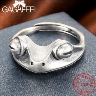 カエル  シルバー925  指輪  リング  新品(リング(指輪))