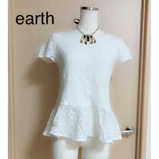 アースミュージックアンドエコロジー(earth music & ecology)の earth(カットソー(半袖/袖なし))