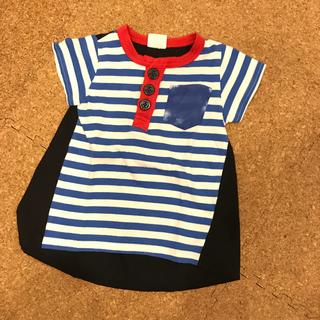 ジャンクストアー(JUNK STORE)のJUNK STORE 90㎝ 半袖 オシャレ Tシャツ ボーダー  (Tシャツ/カットソー)