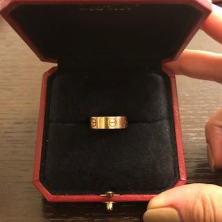 カルティエ(Cartier)の【Cartier】ラブリング PG♡LOVE RING(リング(指輪))