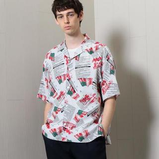 ビューティアンドユースユナイテッドアローズ(BEAUTY&YOUTH UNITED ARROWS)のサイズL 定価19,440円 h beauty&youth アロハシャツ(シャツ)