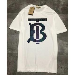 バーバリー(BURBERRY)のburberry バーバリ ホワイト 新品 極美品 男女兼用  Tシャツ  (Tシャツ/カットソー(半袖/袖なし))