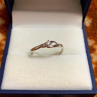 クレージュ(Courreges)のクレージュ K18WG  ホワイトゴールド ダイヤモンドリング  (リング(指輪))