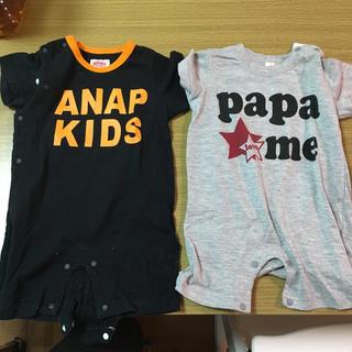アナップキッズ(ANAP Kids)のロンパースセット(ロンパース)