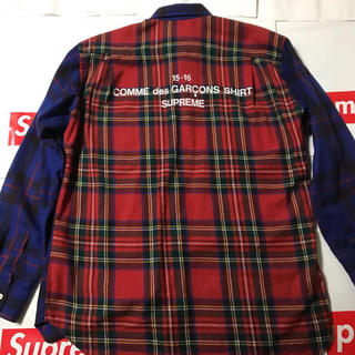 Supreme × COMME des GARCONS 15AW シャツ国内正規