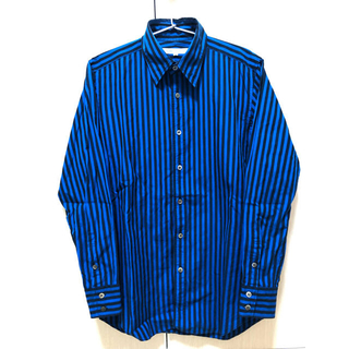 ジョンローレンスサリバン(JOHN LAWRENCE SULLIVAN)のJOHN LAWRENCE SULLIVAN ストライプシャツ(シャツ)