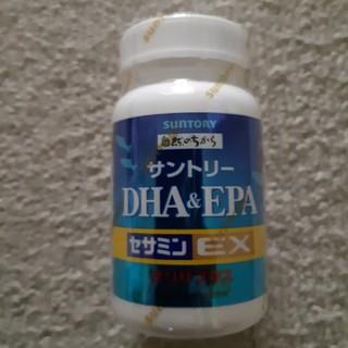 サントリー(サントリー)の(新品 未開封)サントリー DHA &EPA  +  セサミンEX  120粒 (その他)