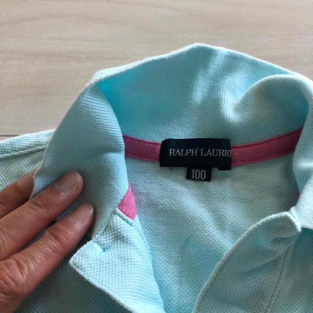 Ralph Lauren(ラルフローレン)の美品 ラルフローレン Ralph Lauren ポロシャツ ワンピース  キッズ/ベビー/マタニティのキッズ服 女の子用(90cm~)(ワンピース)の商品写真