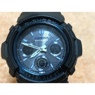 ジーショック(G-SHOCK)のCASIO Gショック マルチバンド6 AWG-M100A-1A(腕時計(アナログ))