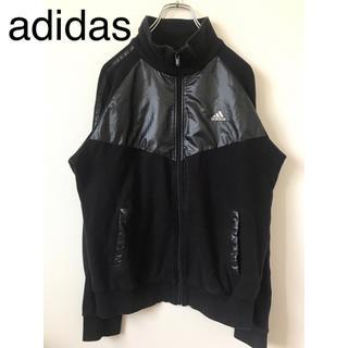 アディダス(adidas)のadidas アディダス スウェットブルゾン Mサイズ 黒(スウェット)