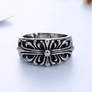 330 【高級感あり】クロスキーパーリング指輪(リング(指輪))