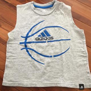 アディダス(adidas)のadidas タンクトップ キッズ 110〜120サイズ(Tシャツ/カットソー)
