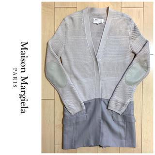 マルタンマルジェラ(Maison Martin Margiela)の希少 MAISON MARGIELA ドッキングエルボーパッチカーディガン(カーディガン)