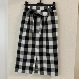 ViS - VIS☆ギンガムチェックタイトスカート
