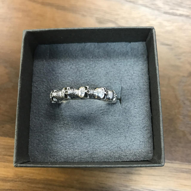 スカルシルバーリング925 メンズのアクセサリー(リング(指輪))の商品写真