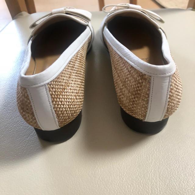 DIANA(ダイアナ)のDIANA パナマ フラットシューズ リボンローファー レディースの靴/シューズ(ローファー/革靴)の商品写真