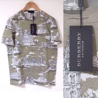 バーバリー(BURBERRY)のBURBERRY 柄Tシャツ M(Tシャツ/カットソー(半袖/袖なし))