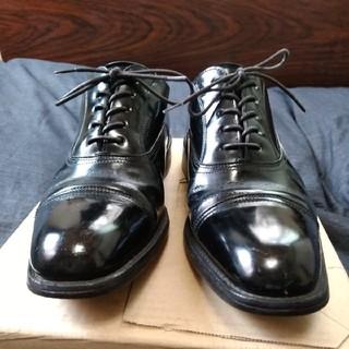 リーガル(REGAL)のREGAL 716R ブラック ストレートチップ ビジネス 冠婚葬祭(ドレス/ビジネス)