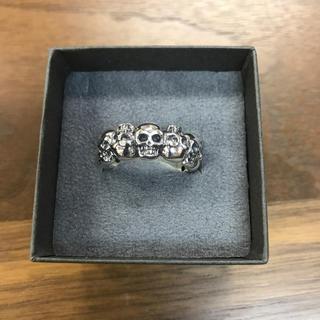 スカルシルバーリング925新品(リング(指輪))