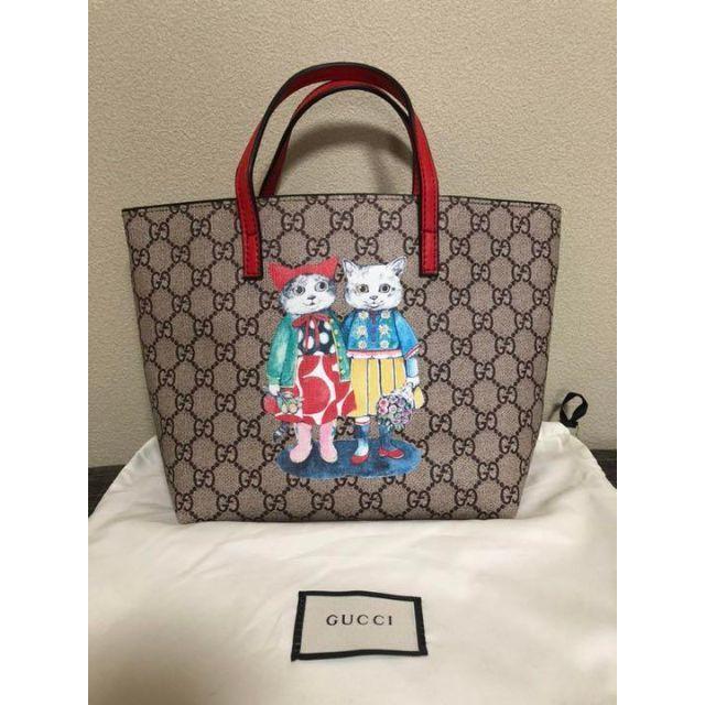 Gucci(グッチ)の新品★グッチ ヒグチユウコ コラボバッグ レディースのバッグ(トートバッグ)の商品写真