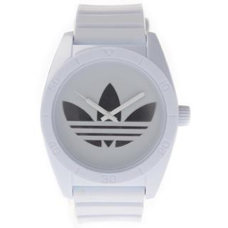 アディダス(adidas)のadidasアディダス☆白腕時計(腕時計(アナログ))