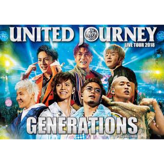 GENERATIONS - united journeyポスター