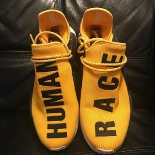 アディダス(adidas)の26.5cm 新品アディダス ヒューマンレース ファレル ウィリアムス イエロー(スニーカー)