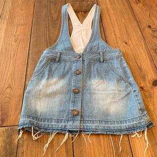 ジーユー(GU)のGU 子供 スカート 130(スカート)