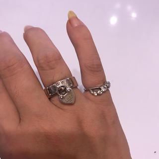 ティファニー(Tiffany & Co.)のティファニー ハートロックリング ティファニー リング お値下げ(リング(指輪))
