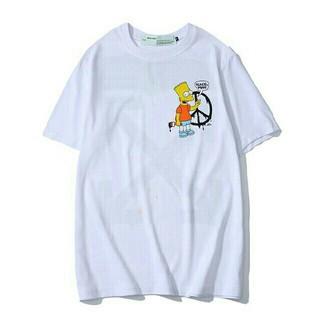 オフホワイト(OFF-WHITE)のOFF-WHITE オフホワイト Tシャツ 半袖 シャツ 夏 メンズ(Tシャツ/カットソー(半袖/袖なし))