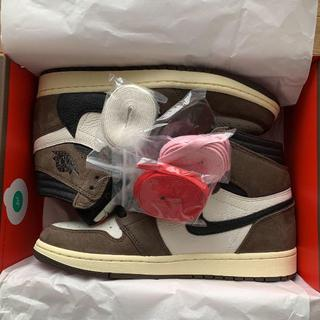 NIKE - AIR JORDAN 1 TRAVIS SCOTT エア ジョーダン26.5