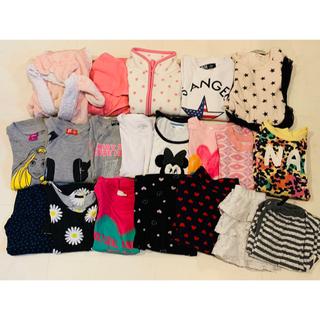 アナップキッズ(ANAP Kids)の子供服まとめ売り 女の子用 上下(Tシャツ/カットソー)