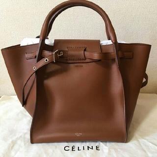 セリーヌ(celine)の【CELINE / セリーヌ】ビッグバッグ タン スムースカーフスキン(ハンドバッグ)