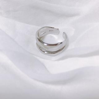 トゥデイフル(TODAYFUL)のsilver925 シルバーリング ワイドリング no.1(リング(指輪))