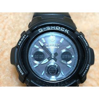ジーショック(G-SHOCK)のCASIO Gショック ガリッシュブラック AWG-M100BW-1AJF(腕時計(アナログ))
