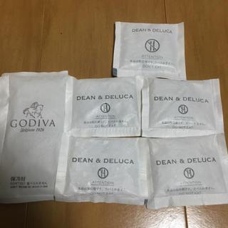 ディーンアンドデルーカ(DEAN & DELUCA)の◎DEAN&DELUCA ディーン&デルーカ  GODIVA 保冷剤(弁当用品)