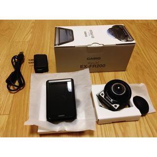 カシオ(CASIO)のCASIO EX-FR200(コンパクトデジタルカメラ)