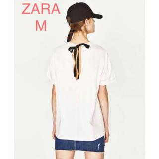 ZARA - ZARA ザラ オーガニック コットン Tシャツ