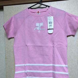 クレージュ(Courreges)の新品タグ付きクレージュ:courreges半袖綿シャツ38イトキン定価6195円(Tシャツ(半袖/袖なし))