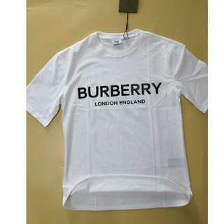 バーバリー(BURBERRY)のBurberry バーバリー ホワイト シンプル Tシャツ (Tシャツ/カットソー(半袖/袖なし))