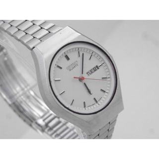 807a4817f1 セイコー(SEIKO)のSEIKO ジョイフル 腕時計 デイデイト 赤針 ホワイトダイアル V(腕時計