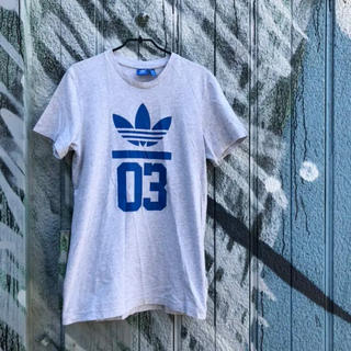 adidas - adidas originalsトレフォルロゴ ナンバリングTシャツ 古着