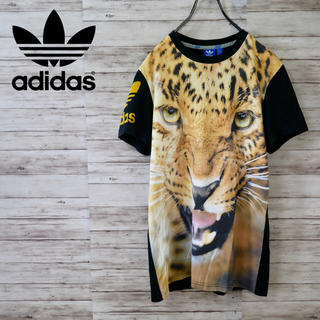 adidas - Adidas Originals Jaguar S/S Tee 虎 レオパード