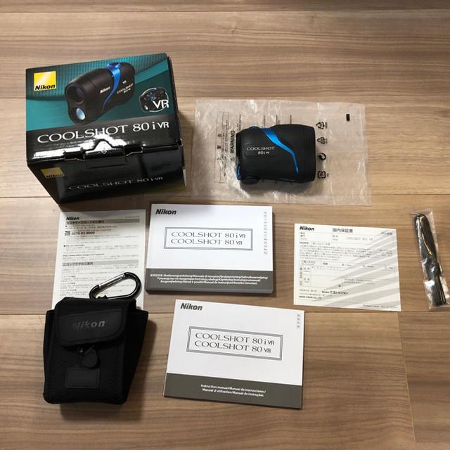 Nikon(ニコン)のニコン クールショット 80i VR スポーツ/アウトドアのゴルフ(その他)の商品写真