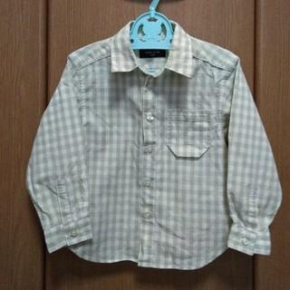 コムサイズム(COMME CA ISM)のCOMME CA ISM 100 男の子 チェックシャツ(ブラウス)