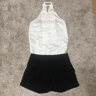 ダブルスタンダードクロージング(DOUBLE STANDARD CLOTHING)のsov. 黒 ショートパンツ (ショートパンツ)