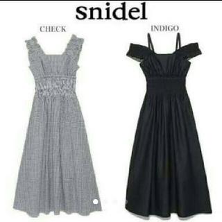 snidel - ギンガムチェックワンピース