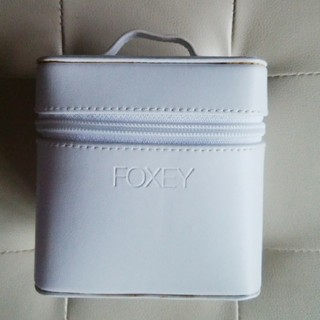 FOXEY - FOXEY 非売品 白 バニティバッグ
