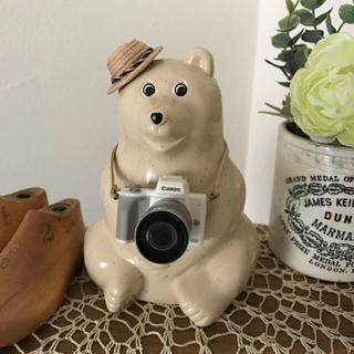 ミニチュア カメラ / ホワイト(アクセサリータイプ)